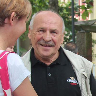 Dr. Jürgen Metternich im Gespräch