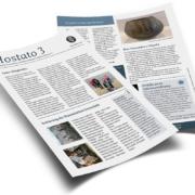 Der neu designte Rundbrief des Höchster Geschichtsvereins. Die Ausgabe 3 widmet sich den Projekten, die seit Amtsbeginn Oktober 2020 bereits realisiert werden konnten vom neuen Vorstand.